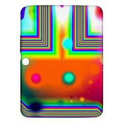 Crossroads Of Awakening, Abstract Rainbow Doorway  Samsung Galaxy Tab 3 (10 1 ) P5200 Hardshell Case  by DianeClancy