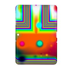 Crossroads Of Awakening, Abstract Rainbow Doorway  Samsung Galaxy Tab 2 (10 1 ) P5100 Hardshell Case  by DianeClancy