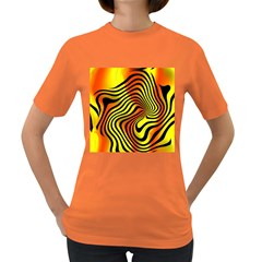 Colored Zebra Women s T Shirt (colored) by Colorfulart23