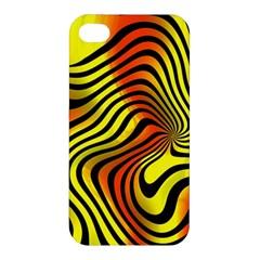 Colored Zebra Apple Iphone 4/4s Hardshell Case by Colorfulart23