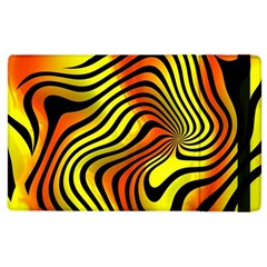 Colored Zebra Apple Ipad 2 Flip Case by Colorfulart23