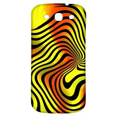 Colored Zebra Samsung Galaxy S3 S Iii Classic Hardshell Back Case by Colorfulart23