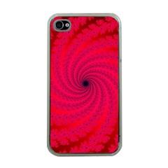 Fracrtal Apple Iphone 4 Case (clear) by UROCKtheWorldDesign