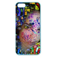 Artistic Confusion Of Brain Fog Apple Seamless Iphone 5 Case (color) by FunWithFibro