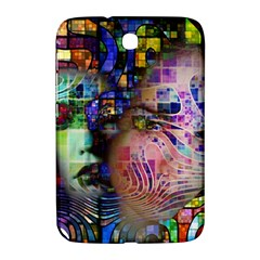 Artistic Confusion Of Brain Fog Samsung Galaxy Note 8 0 N5100 Hardshell Case  by FunWithFibro