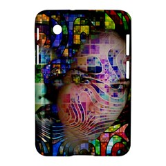 Artistic Confusion Of Brain Fog Samsung Galaxy Tab 2 (7 ) P3100 Hardshell Case  by FunWithFibro