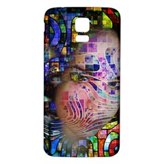 Artistic Confusion Of Brain Fog Samsung Galaxy S5 Back Case (white) by FunWithFibro