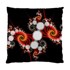 Mysterious Dance In Orange, Gold, White In Joy Cushion Case (two Sided)  by DianeClancy