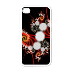 Mysterious Dance In Orange, Gold, White In Joy Apple Iphone 4 Case (white) by DianeClancy