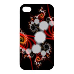 Mysterious Dance In Orange, Gold, White In Joy Apple Iphone 4/4s Premium Hardshell Case by DianeClancy