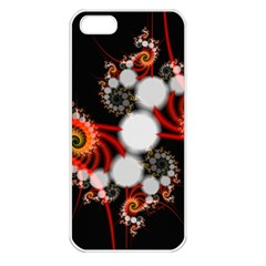 Mysterious Dance In Orange, Gold, White In Joy Apple Iphone 5 Seamless Case (white) by DianeClancy