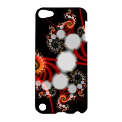 Mysterious Dance In Orange, Gold, White In Joy Apple Ipod Touch 5 Hardshell Case by DianeClancy