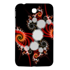 Mysterious Dance In Orange, Gold, White In Joy Samsung Galaxy Tab 3 (7 ) P3200 Hardshell Case  by DianeClancy