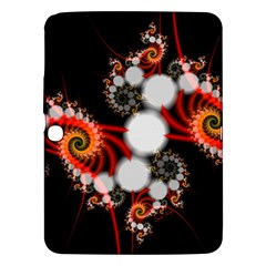Mysterious Dance In Orange, Gold, White In Joy Samsung Galaxy Tab 3 (10 1 ) P5200 Hardshell Case  by DianeClancy