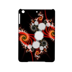 Mysterious Dance In Orange, Gold, White In Joy Apple Ipad Mini 2 Hardshell Case by DianeClancy