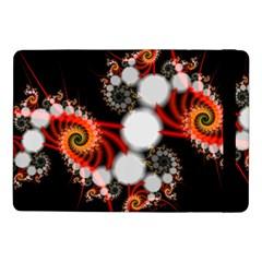 Mysterious Dance In Orange, Gold, White In Joy Samsung Galaxy Tab Pro 10 1  Flip Case by DianeClancy