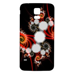 Mysterious Dance In Orange, Gold, White In Joy Samsung Galaxy S5 Back Case (white) by DianeClancy