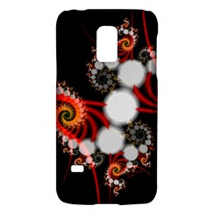 Mysterious Dance In Orange, Gold, White In Joy Samsung Galaxy S5 Mini Hardshell Case