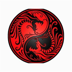 Yin Yang Dragons Red And Black Canvas 18  X 24  (unframed) by JeffBartels