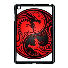 Yin Yang Dragons Red And Black Apple Ipad Mini Case (black)