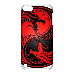 Yin Yang Dragons Red And Black Apple Ipod Touch 5 Hardshell Case With Stand by JeffBartels