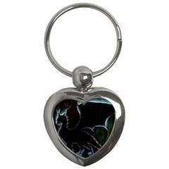 Dragon Aura Key Chain (heart)