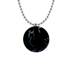 Dragon Aura Button Necklace by StuffOrSomething