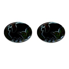 Dragon Aura Cufflinks (oval) by StuffOrSomething