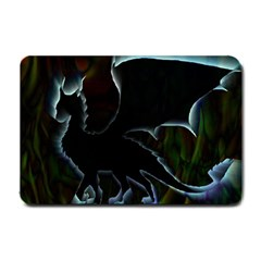 Dragon Aura Small Door Mat by StuffOrSomething
