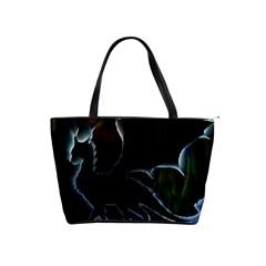 Dragon Aura Large Shoulder Bag by StuffOrSomething