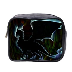 Dragon Aura Mini Travel Toiletry Bag (two Sides) by StuffOrSomething