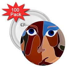 Abstract God 2 25  Button (100 Pack) by AlfredFoxArt