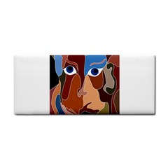 Abstract God Hand Towel by AlfredFoxArt