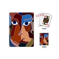 Abstract God Playing Cards (mini) by AlfredFoxArt