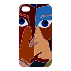 Abstract God Apple Iphone 4/4s Hardshell Case by AlfredFoxArt