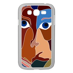 Abstract God Samsung Galaxy Grand DUOS I9082 Case (White) by AlfredFoxArt