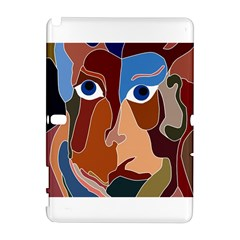 Abstract God Samsung Galaxy Note 10 1 (p600) Hardshell Case by AlfredFoxArt