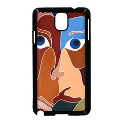 Abstract God Samsung Galaxy Note 3 Neo Hardshell Case (black)