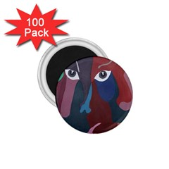 Abstract God Pastel 1 75  Button Magnet (100 Pack) by AlfredFoxArt