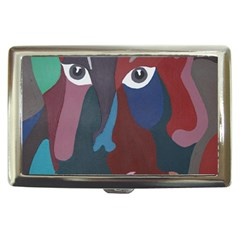 Abstract God Pastel Cigarette Money Case by AlfredFoxArt
