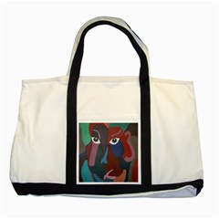 Abstract God Pastel Two Toned Tote Bag