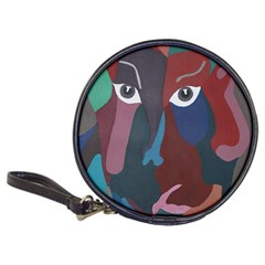 Abstract God Pastel Cd Wallet by AlfredFoxArt