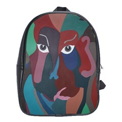Abstract God Pastel School Bag (large) by AlfredFoxArt