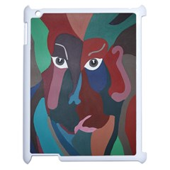 Abstract God Pastel Apple Ipad 2 Case (white) by AlfredFoxArt