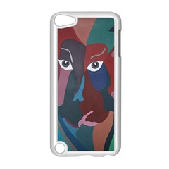 Abstract God Pastel Apple iPod Touch 5 Case (White) by AlfredFoxArt