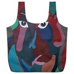 Abstract God Pastel Reusable Bag (xl) by AlfredFoxArt