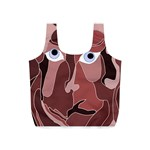 Abstract God Lilac Reusable Bag (S) Back