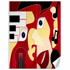 Soul Man Canvas 18  X 24  (unframed)