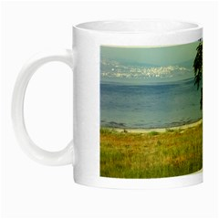 Sea Of Galilee Glow In The Dark Mug by AlfredFoxArt