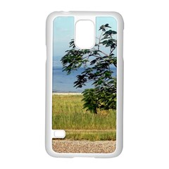 Sea Of Galilee Samsung Galaxy S5 Case (White) by AlfredFoxArt